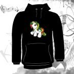 Bluza kangurka  LITTLE RASTA PONY 02