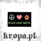 Magnes PEACE LOVE MUTTS