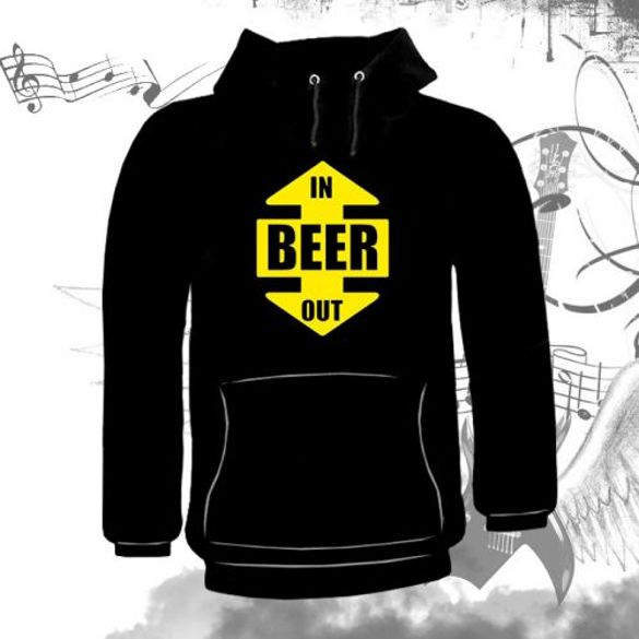 Bluza kangurka BEER IN OUT