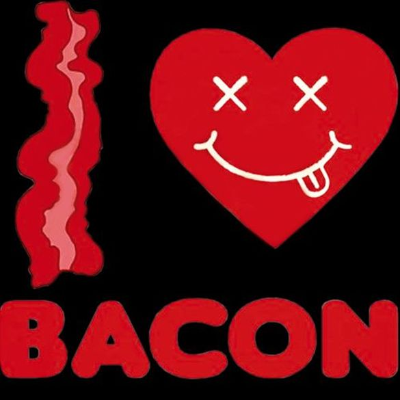 Bluza kangurka  I LOVE BACON 02
