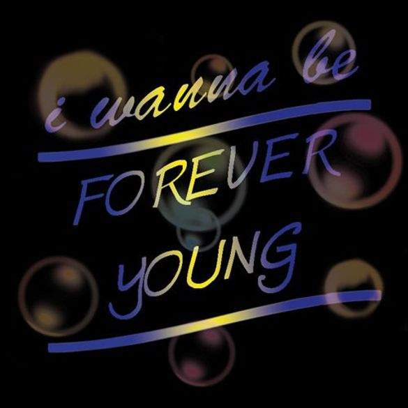 Bluza kangurka  I WANNA BE FOREVER YOUNG 02