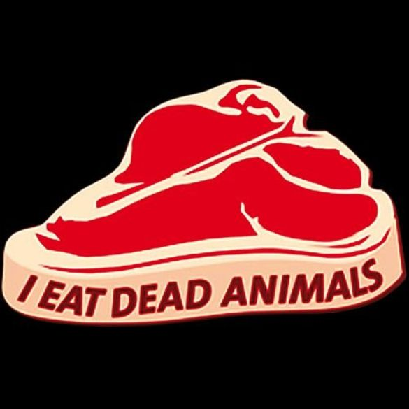 Bluzka damska  I EAT DEAD ANIMALS 02