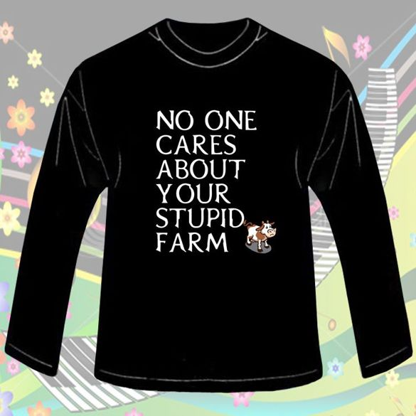 Long Sleeve  NO ONE CARES...