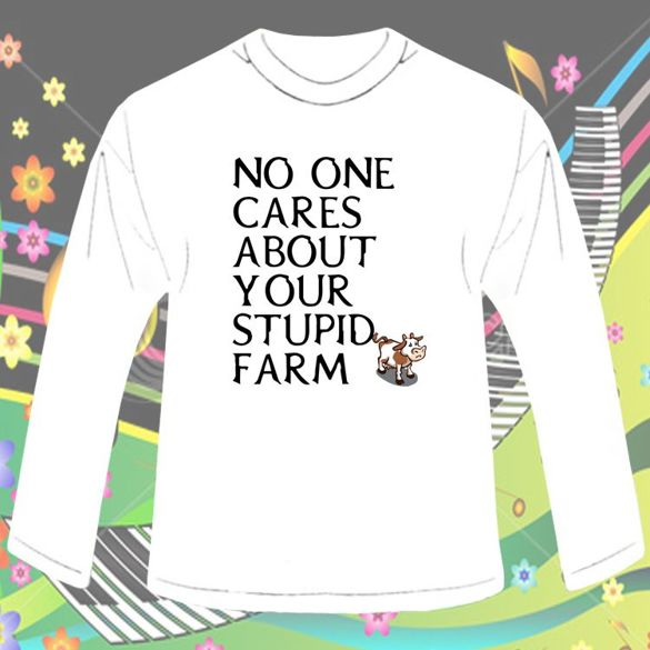 Long Sleeve  NO ONE CARES... 02