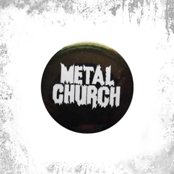 Przypinka METAL CHURCH 01